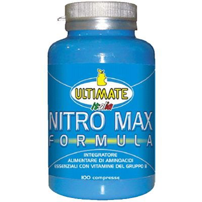 NITRO MAX FORMULA 100CPR - www.PROTEIN-SHOP.it
