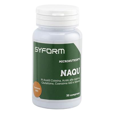 NAQU (30 compresse) - www.PROTEIN-SHOP.it