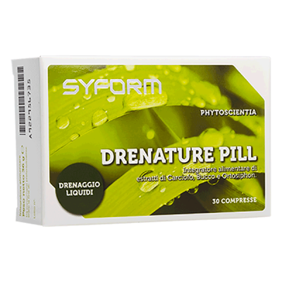DRENATURE PILL (30 compresse) - www.PROTEIN-SHOP.it