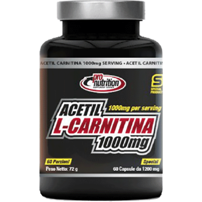 ACETIL CARNITINA 60CPS - www.PROTEIN-SHOP.it
