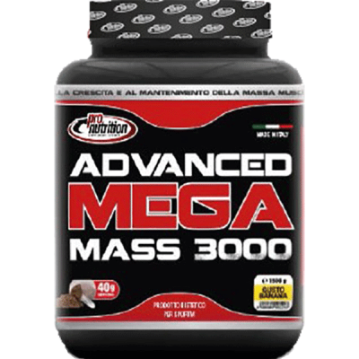 ADVANCED MEGAMASS 3000 1,5KG - www.PROTEIN-SHOP.it