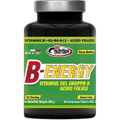 B-ENERGY 60CPR - www.PROTEIN-SHOP.it