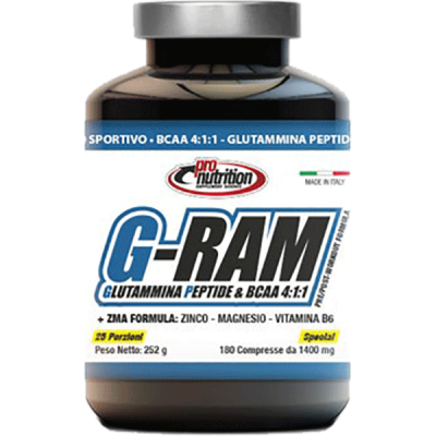 G-RAM 180CPR - www.PROTEIN-SHOP.it