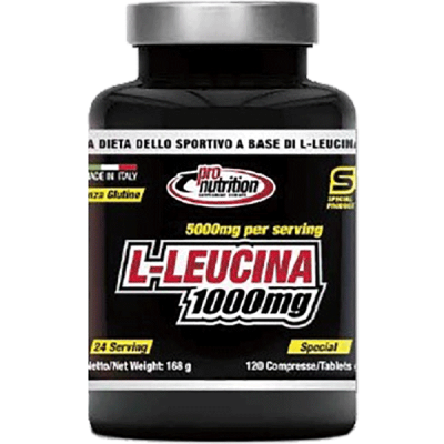 L-LEUCINA 1000MG 120CPR - www.PROTEIN-SHOP.it