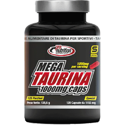 MEGATAURINA 1000 MG 120CPS - www.PROTEIN-SHOP.it
