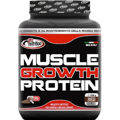 MUSCLE GROWTH 1500G - www.PROTEIN-SHOP.it