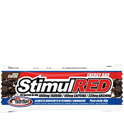 STIMULRED BAR 24X40GR - www.PROTEIN-SHOP.it