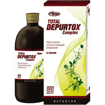 TOTAL DEPURTOX COMPLEX 500ML - www.PROTEIN-SHOP.it
