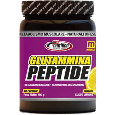 GLUTAMMINA PEPTIDE 400GR - www.PROTEIN-SHOP.it