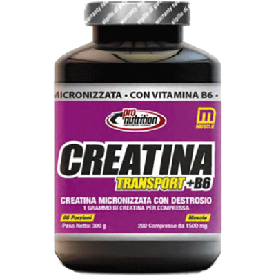 CREATINA TRANSPORT+B6 200CPR - www.PROTEIN-SHOP.it