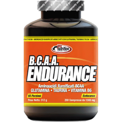 BCAA ENDURANCE 200CPR - www.PROTEIN-SHOP.it