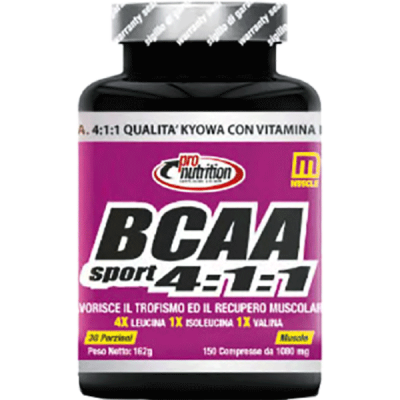 BCAA SPORT 4:1:1 100CPR - www.PROTEIN-SHOP.it
