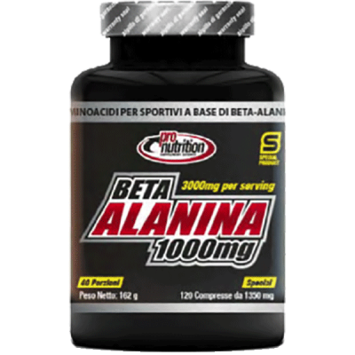 BETA-ALANINA 1000 MG 120CPR - www.PROTEIN-SHOP.it