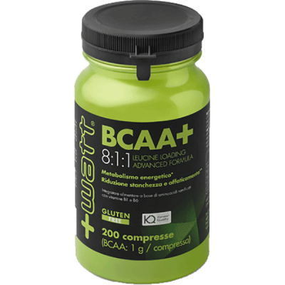 BCAA+ 8:1:1 COMPRESSE 200cpr - www.PROTEIN-SHOP.it
