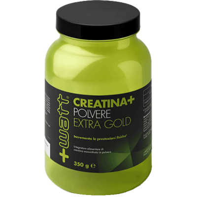 CREATINA+ POLVERE EXTRA GOLD 350gr - www.PROTEIN-SHOP.it
