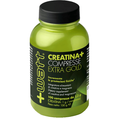 CREATINA+ COMPRESSE EXTRA GOLD 100cpr - www.PROTEIN-SHOP.it