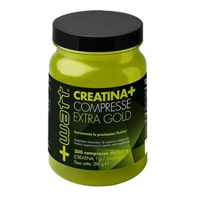 CREATINA+ COMPRESSE EXTRA GOLD 300cpr - www.PROTEIN-SHOP.it