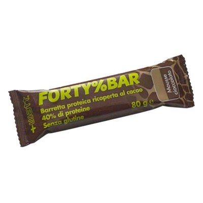 FORTY% BAR BOX 20pz x 80gr - www.PROTEIN-SHOP.it